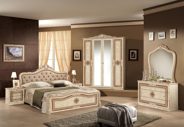 Dormitor luisa beige royal mob for Chambre a coucher istikbal