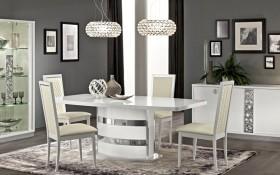 DINING ROMA WHITE